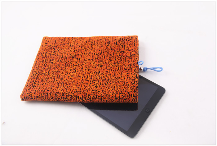 Cheap Flannel Bag For IPAD lint Dust Proof Laptop Tablet Bag