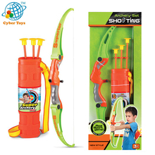 Wholesale price plastic archery hunting bow arrow toys for kids