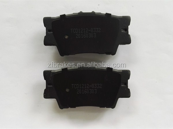disc automobile brake pads for Toyota Camry RAV4