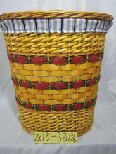 Willow Laundry Basket,Wicker Laundry Basket,Willow Laundry Storage Basket ZX13-380