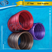 foundry quality colorful round aluminum baby sling rings with safety certification without nickel lead