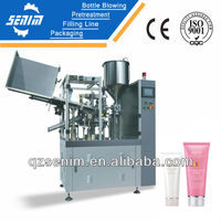 SM-TH60 SUS 304 automatic tube sealing filling machine for toothpaste