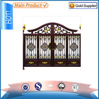 wrought iron gate models/house main gate designs/iron gate grill designs factory