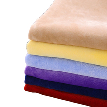 100% polyester flannel fabric for bedding and garment