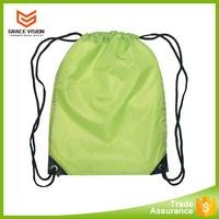 Cheapest Custom 210d Nylon Polyester Sport Gym Drawstring Bag