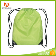 cheapest custom 210d nylon polyester sport gym drawstring bag