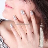 Eco-friendly glitter UV/LED gel nail polish