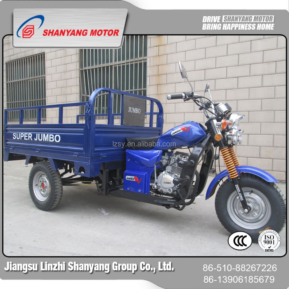High Capacity Fuel Tank Truck/Trike Chopper Three Wheel Motorcycle/Ambulance for Sale