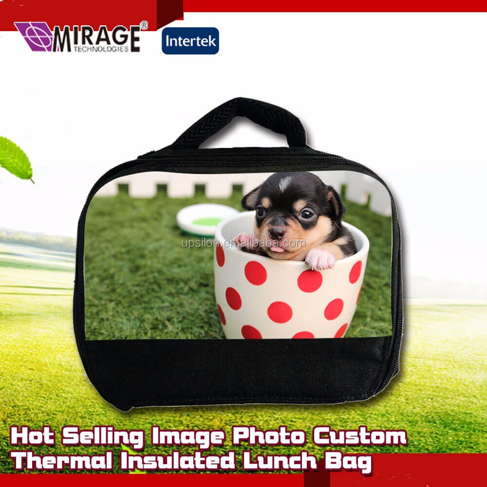 Hot Selling Image Photo Custom Thermal Insulated Lunch Bag