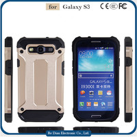 New design 2 in 1 hybrid phone protective case cover for Samsung Galaxy S3