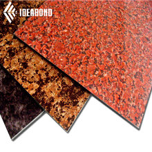Standard New Building Construction Materials List ACP Stone Look Aluminum Composite Panel with Cheap Price