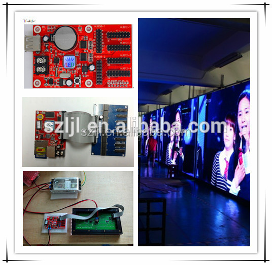 Moving message led sign/led advertising display USB control card TF-AU card