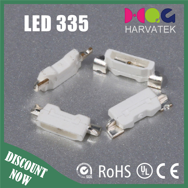 2017 HOT Sales 335 Side-View White LED