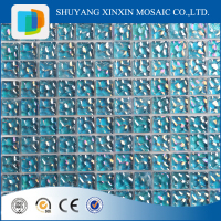 New design broken glass mosaic tile,crackle ceramic mosaic for swimming pool
