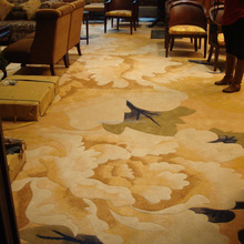 Banquet, lobby hand tufted carpets high quality