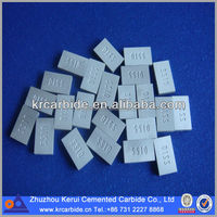 Rectangular Shape Widia Insert Stone Cutting tools