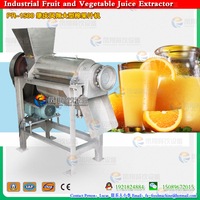 PR-1500 High Efficiency Tomato Paste Processing Machine/Single Screw Stainless Steel Apple Juice Making Machine