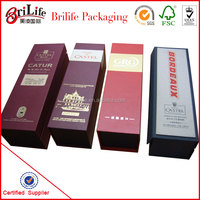 Top Grade Wine Bottle Carrier Box Wholesale In China