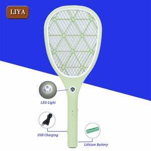 Zapper Rechargeable USB Charging Lithium Battery Electric Fly Swatter Racket Killer Argos Mosquito Bat / USB Mosquito Swatter