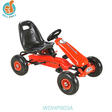 WDHP003A Cheap Kids Ride on Go Kart car/Pedal car toy Front-wheel Drive Electric Car