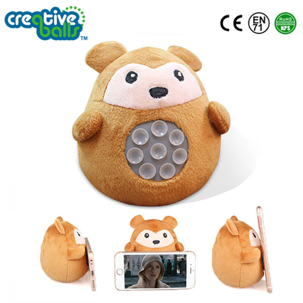 Silica Gel Suction Cup Animal Mobile Phone Holder