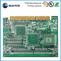 PCB and PCBA immersion gold PCB Prototype SMT, AOI ,IC Footprint Printed Circuit Board FR-4 Electronic PCB