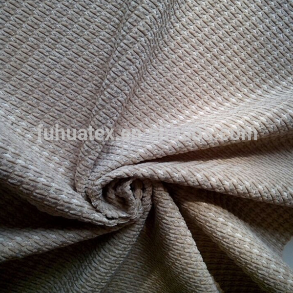 wholesale 100%polyester H shape wide wale corduroy fabric for sofa/corduroy furniture fabric