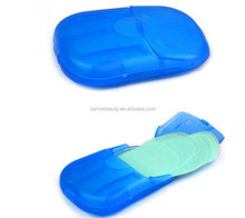 Travel Portable Washing Slice Sheets Hand Bath Scented Foaming Paper Soap
