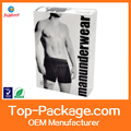 high quality cutom design plastic men's underwear packaging