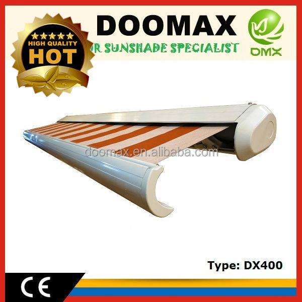 Retractable Electric Full Cassette Outdoor Used Awnings for Sale