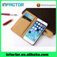 Mobile leather phone case for iPhone 6 cellphone leather cases