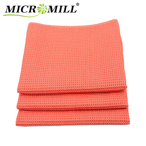Microfiber kitchen towel quick-dry, waffle towel microfiber cleaning towel
