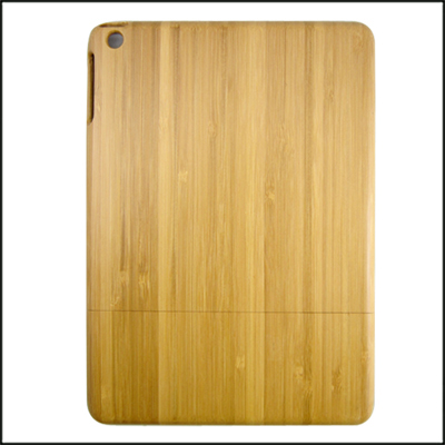 Carbonized bamboo wooden case two parts wood phone case factory bottom price back case for iPad5