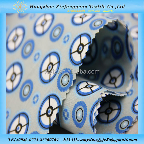 chinese fabric100% polyester printed fabric for sports fabric