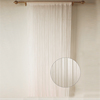 Fancy Flame retardant spaghetti curtain for five-star hotels kitchen lounge room
