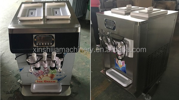 Stainless steel cheap vertical ice cream machine