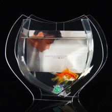 Plexiglass 3d background for aquarium for table