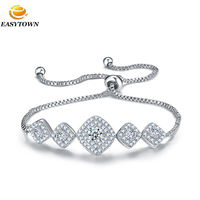 push-and-pull bracelet,Zircon Beads jewelry,Pave zircon jewelry by hand
