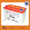wholesale 95D31L 12v80ah dry charged batteries scrap batteries with best price