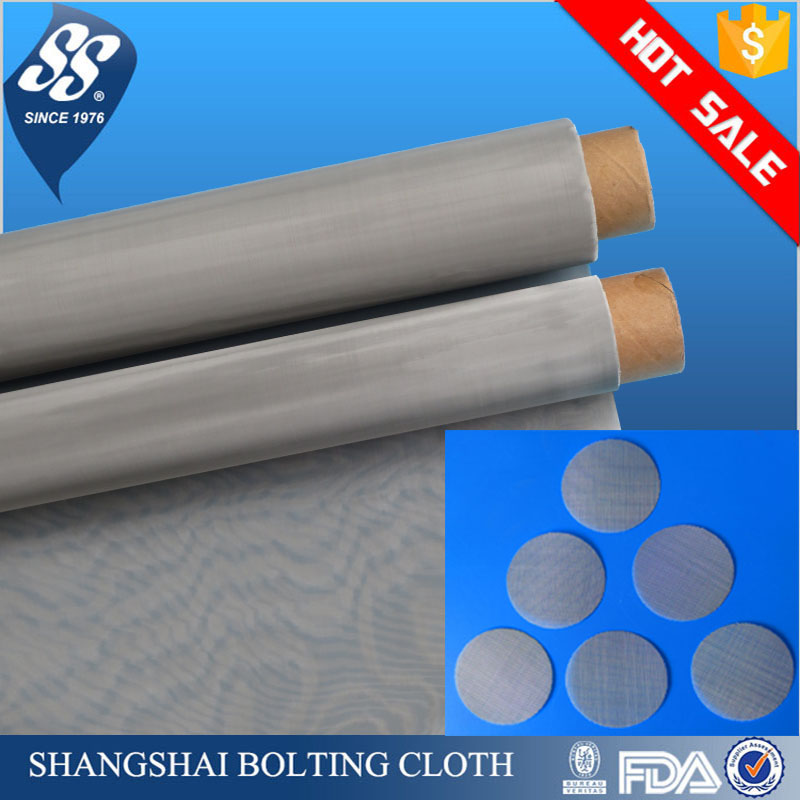 stainless steel screen mesh/micron stainless steel mesh filters