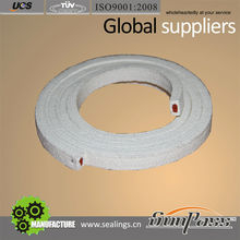 Glass Fiber PTFE Core Silicone Coated Gland Packing