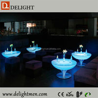 Best selling color changing illuminated remote control led glow light coffee table