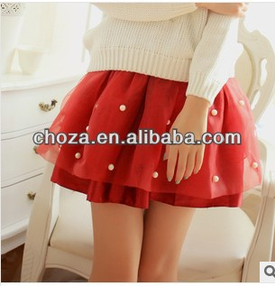 C61371A 2014 TOP NEWEST DESIGN LADY'S SHORT SKIRT