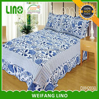 china supplier down alternative comforter sets 3d