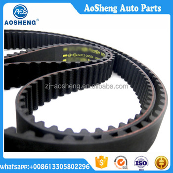 Motor spare parts rubber conveyor timing industrial ribbed v belt (330LA075)