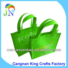 Promotion Custom logo design rpet non woven Shopping tote bags