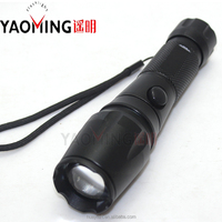 Best Price Zoom Rechargeable 5 Modes T6 Tactical Led Flashlight,18650 Aluminum Flashlight XML 10W Torch Light