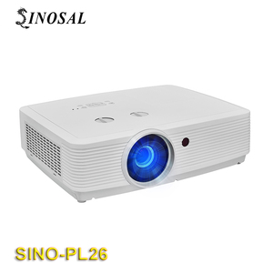 2018 Newest HDMI High Brightness large scale outdoor Projector SINO-PL26 8000 lumens 3LCD