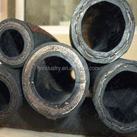 High pressure hydraulic steel wire spiral oil resistant rubber hose