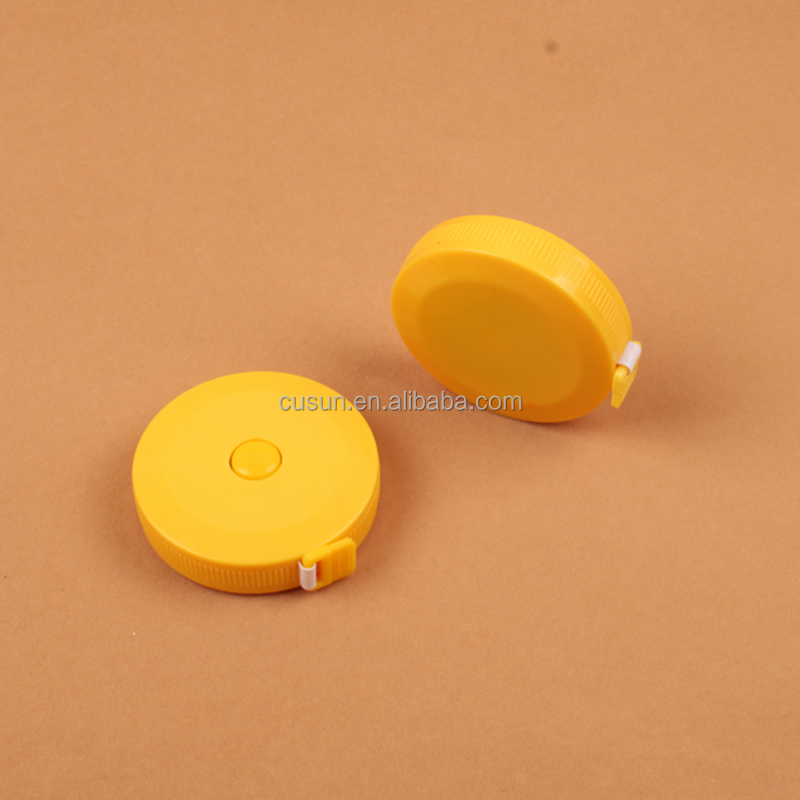 Soft pvc portable retractable mini measure tape 1.5m freeman measuring tape